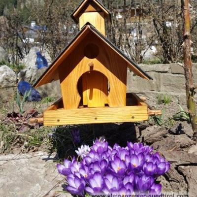 Vogelhäuser selbst gemacht - thumb