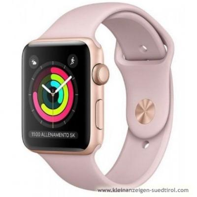 Apple Watch Serie 3 gold - thumb