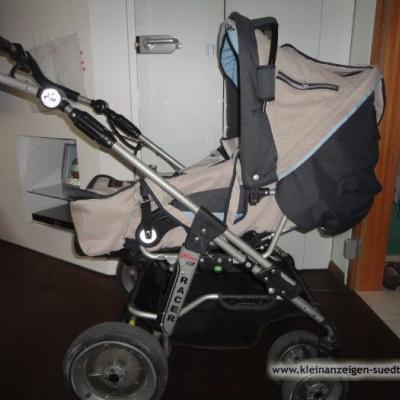 Kinderwagen Hartan u.Babyschale Römer zu verkaufen - thumb
