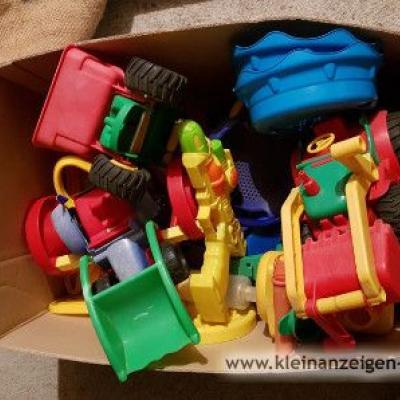 Sandkastenspielzeug/ Karton voll/ Spende - thumb