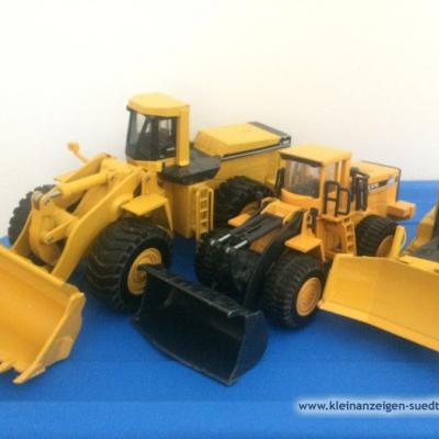 Baufahrzeuge aus Metalll - thumb
