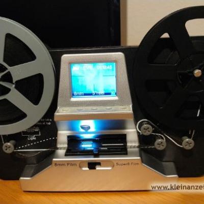 Filmscanner für 8mm und Super 8mm Filme - thumb