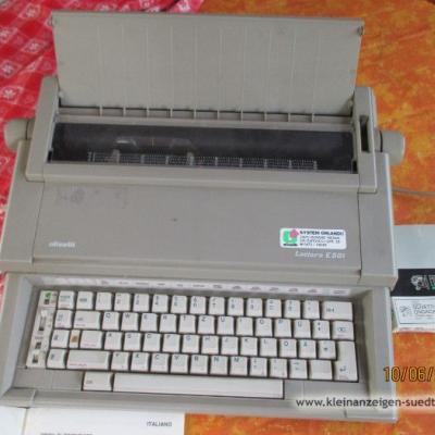 ElektronischeSchreibmaschine Olivetti Lettera E501 - thumb