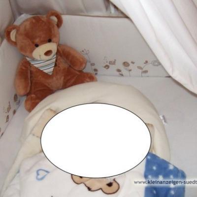 Babybett mit sämtlichen Zubehör - thumb