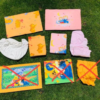 6-teiliges Set Bettwäsche Kinder 100x135 cm - thumb