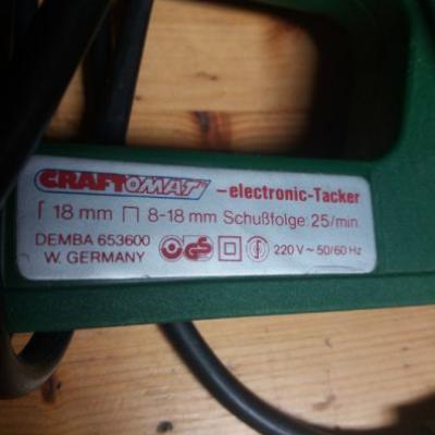 Elektro-Tacker - thumb