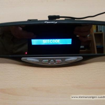 Rückspiegel mit integriertem Bluetooth-Freisprech- - thumb