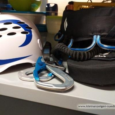 Klettersteiggurt und Helm - thumb