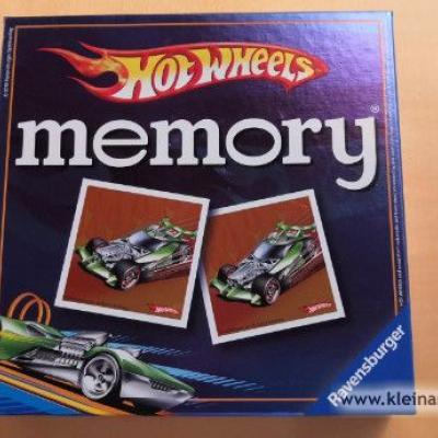Memory Hot Wheels von Ravensburg - thumb