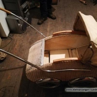 Puppenwagen - Jalousien mit Fensterstock - thumb