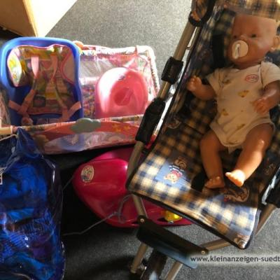 Babyborn mit viele Extras - thumb