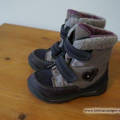 Kinderschuhe Winter für Mädchen, Gr. 24, Pepino - thumb