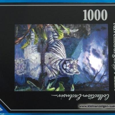 Puzzle Collection Exclusive Weißer Tiger - thumb