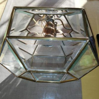 schöner Lampenschirm aus Messing - thumb