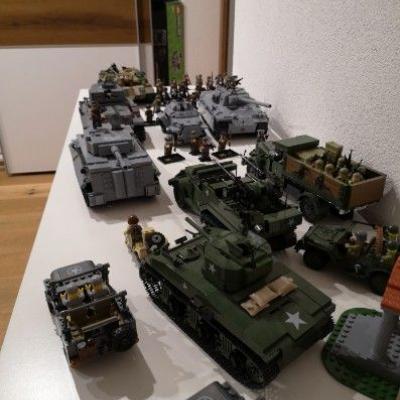 Riesen Legosammlung WW2 - thumb