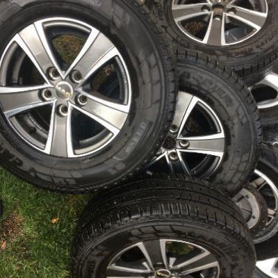 Leichtmetallfelgen für Fiat Ducato - thumb
