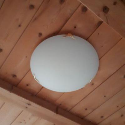 2 Deckenlampen - 2 Leselampen und 2 Wandlampen - thumb