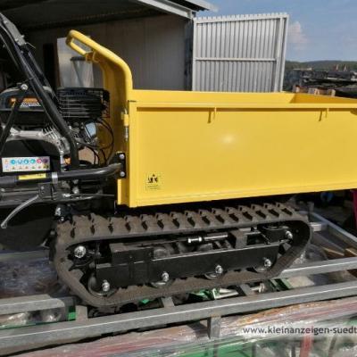 600 Raupendamper Dumper Minidumper Motorschubkarre - thumb