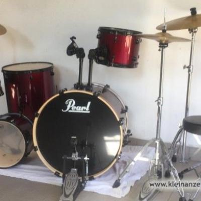 Schlagzeug Set wie neu - thumb