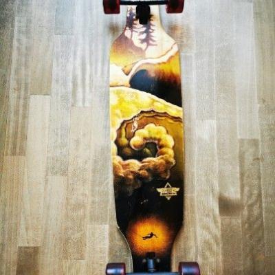 Longboard top Zustand - thumb