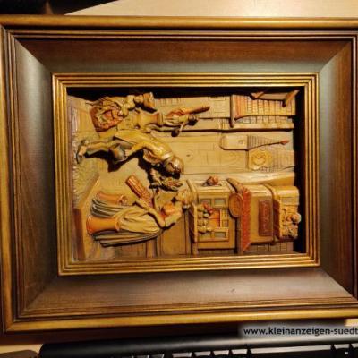 Bild aus Holz - thumb