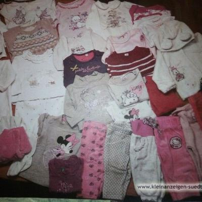 Kleiderpacket Mädchen 2-4 Monat - thumb