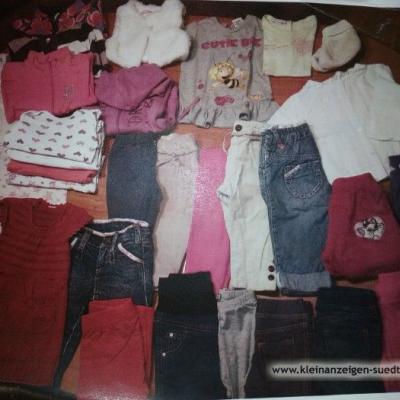 Kleiderpacket Mädchen 9 Monat - thumb
