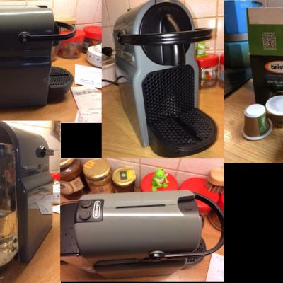 Nespresso Kaffeemaschine für Tabs, Marke DeLonghi - thumb