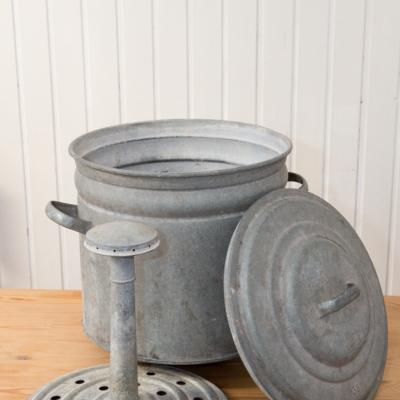 Einweckkessel Waschkessel Zinkkessel - thumb