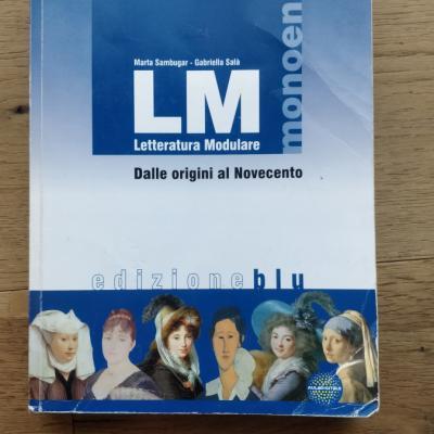 LM Letteratura Modulare, Dalle origini al Novecento edizione blu - thumb
