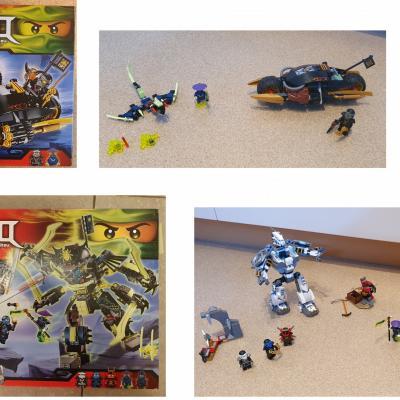 Lego Ninjago Set 2 - thumb