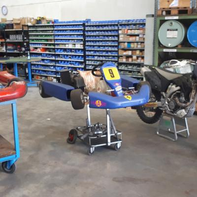Motocross Yamaha YZ 250F 2009 / Go-kart 125ccm/Gokart 60ccm - thumb