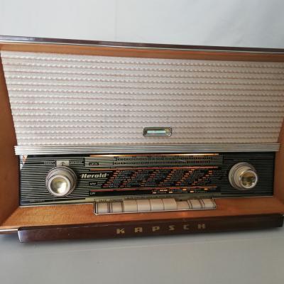Röhrenradio Kapsch Herold - thumb