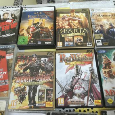 DVD C u. Compiuterspiele - thumb