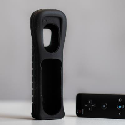 Nintendo Wii Schwarz mit originalem Zubehör im perfekten Zustand - thumb