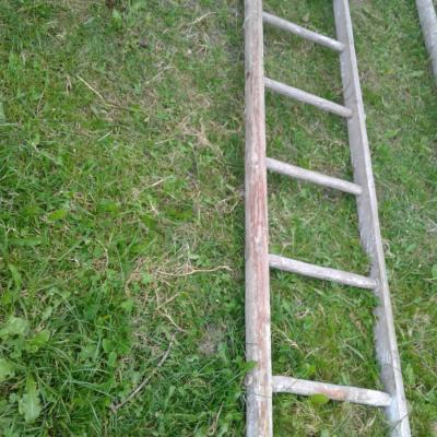 Holzleiter - thumb