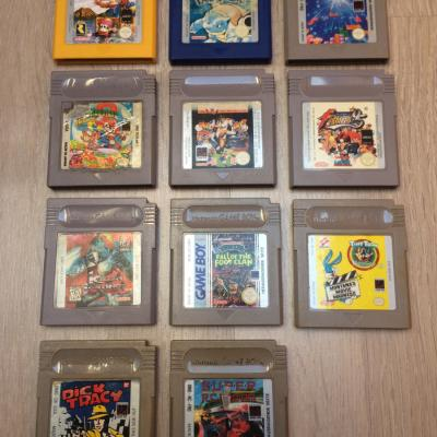 Game Boy Classic / Color Spiele - thumb