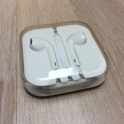 Originale Apple Kopfhörer mit 3,5 mm Kopfhörerstecker in OVP NEU - thumb
