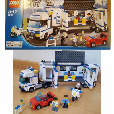 Lego Polizei Truck - thumb