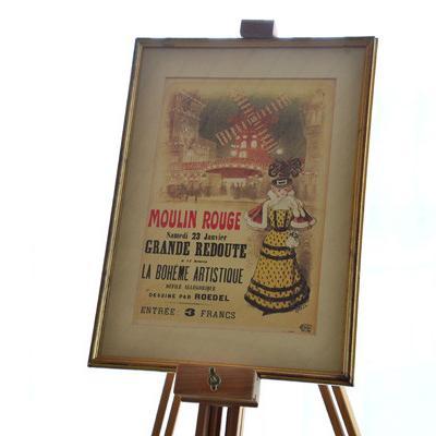 Moulin Rouge Poster mit Bildrahmen - thumb