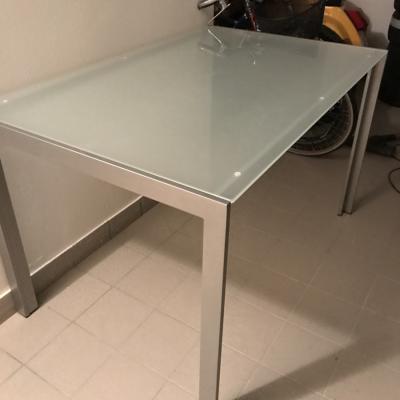Tisch Metall/Glas - thumb