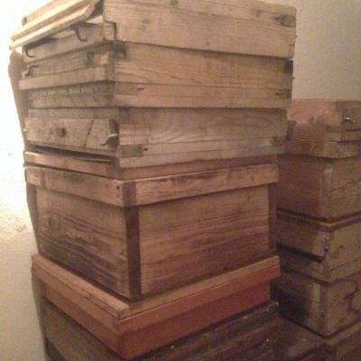 Imkerei-Ausrüstung wie Bienen-Zargen oder Beutendeckel... - thumb