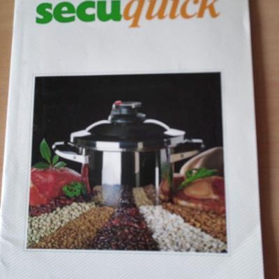 2 Secuquickdeckel mit Secuquickkochbuch - thumb