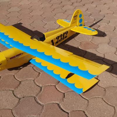 Doppeldecker Modellflieger 1,5m - thumb