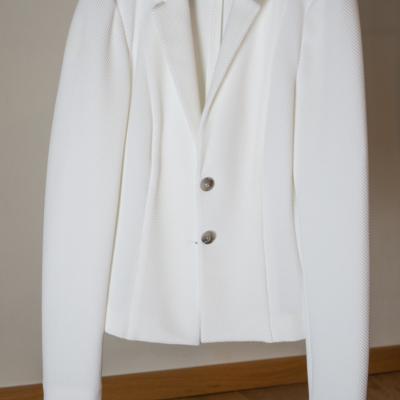 Weißer Blazer (noch nie getragen) - thumb