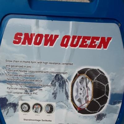 Schneeketten Snow queen (neu) für Autoreifen 195/60 R15 - thumb