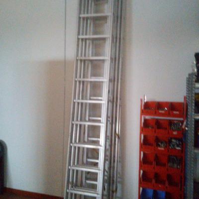 Aluminium Leitern wie neu - thumb