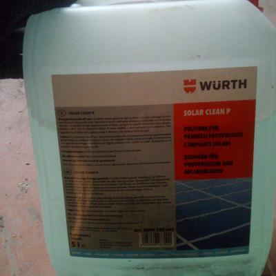 Reinigungsmittel für Fotovoltaik platten, solar anlagen o.ae - thumb