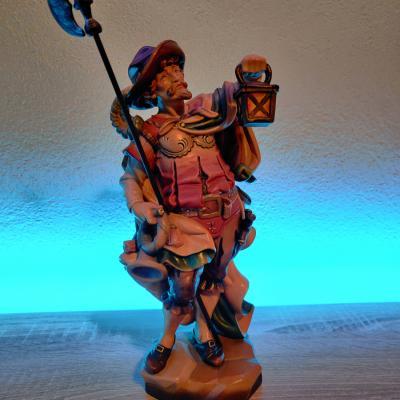 Nachtwächter aus Holz - thumb