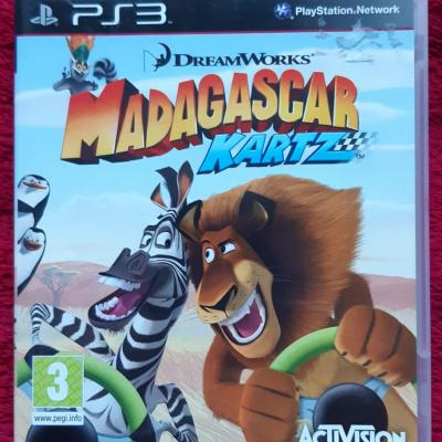 Ps3 Madagaskar Kartz - thumb